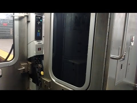 NYC Subway HD: Riding Alstom R160A M Train w/ Unlocked Cab Door (86 St to Myrtle Av) (5/28/17)