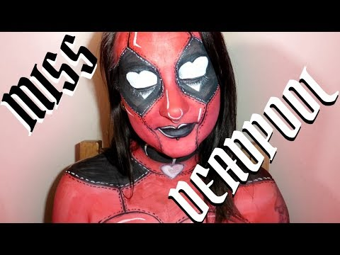 [Full-Download] Lady Deadpool Body Painting Tutorial