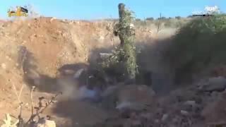 فيديو..المعارضة السورية تستخدم طائرات بدائية لقصف قوات الأسد