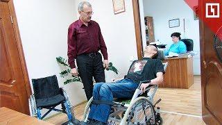 Коляска-трансформер для инвалидов