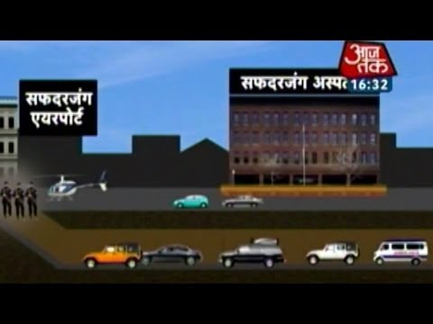 Underground tunnel from 7 RCR to Safdarjung airport for PM Modi