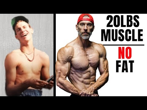 How To Add Muscle Without Fat