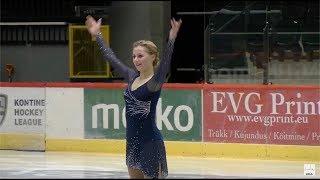 132.29 (202.62 🥇) Серафима Саханович / Serafima Sakhanovich - Tallinn Trophy, FS - November 29, 2018