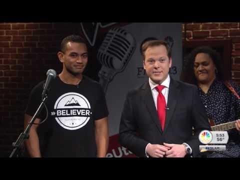 The Utah Voice contestant Inoke Tonga - live performance