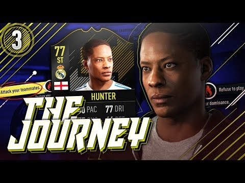 HUNTER TIL REAL MADRID!!?💛 THE JOURNEY (Norsk FIFA 18) #3