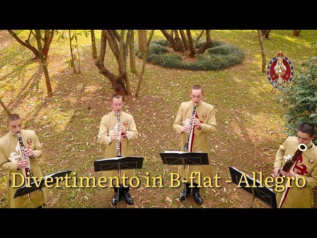 Divertimento in B-flat - Allegro   W.A. Mozart   Perennial Praise