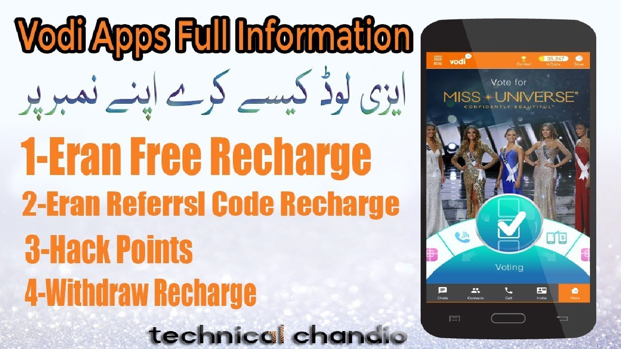 Vodi App Full Information Hindi/Urdu 2018