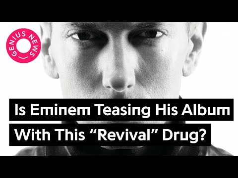 "Is Eminem Teasing His New Album With This ""Revival"" Drug? 