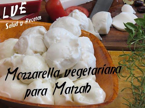 Mozzarella vegetariana para Matzah