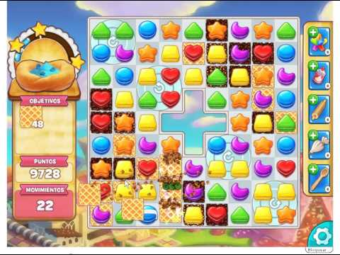 Cookie Jam - LEVEL 678  --   2 STARS  ( No booster ) GAMES
