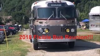 2018 Flxible Bus Reunion - Loudonville, Ohio - Awesome!!