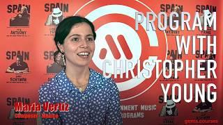 GEMS Talks 2019 · Meet Maria Vertiz