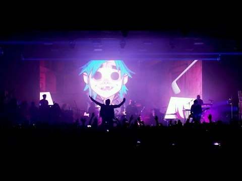 GORILLAZ Saturnz Barz  at Printworks London