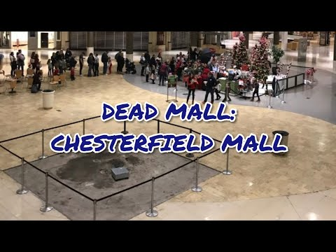 DEAD MALL! Chesterfield Mall, Chesterfield Mo 3/5/18