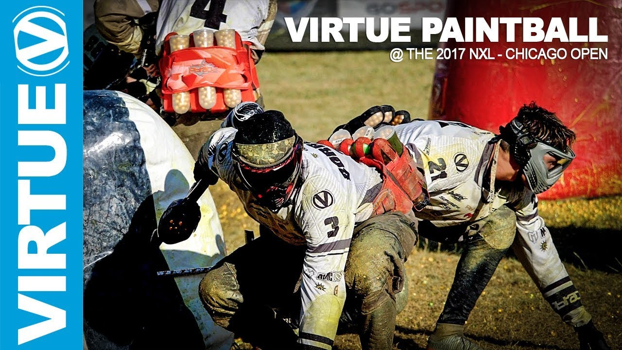 nxl paintball the 2017 chicago open highlights virtue