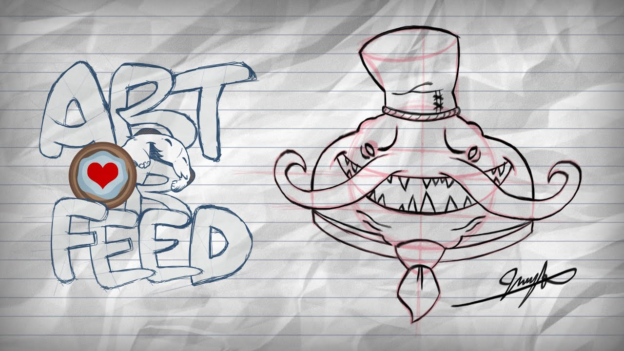 Art or Feed | Draw Master Chef Tahm Kench with Anninosart