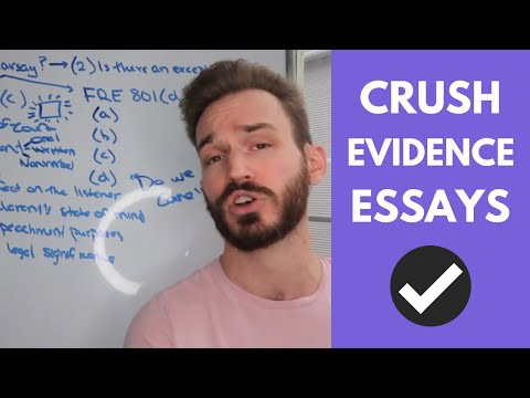 How To Analyze Hearsay On An Evidence Essay (Pt. 1): What Is Hearsay? (FRE 801(c))