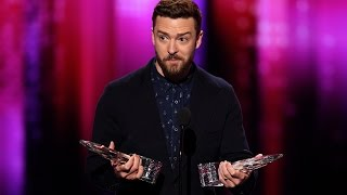 Justin Timberlake Gives ADORABLE Speech & Wins Big At 2017 People