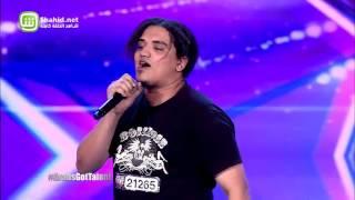 متسابق مصري يفاجئ محكمي Arabs Got Talent بأغنية للـ