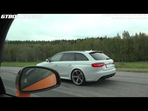 [4k] Audi RS4 Avant vs Audi TT-RS powered by milesPLUS 98