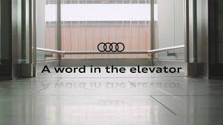 Auf ein Wort im Aufzug: Antriebsentwicklung bei Audi