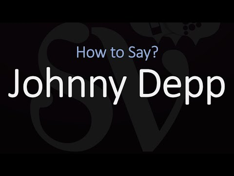 how-to-pronounce-johnny-depp?-(correctly)