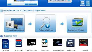 professional memory card recovery software download
