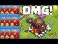 SKELETTZAUBER ZERSTÖREN RATHAUS 10 BASE! ☆ Clash of Clans ☆ CoC