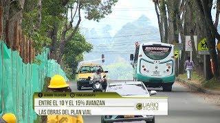 Entre el 10 y el 15% avanzan las obras del Plan Vial de Rionegro