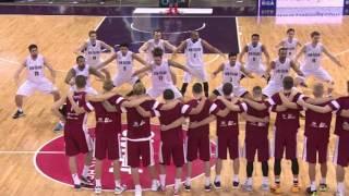 Jaunzēlandes basketbola izlase pirms spēles ar Latviju izpilda kara deju haku!