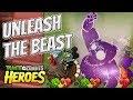 Animalistic Feasts - Plants vs Zombies Heroes Gameplay
