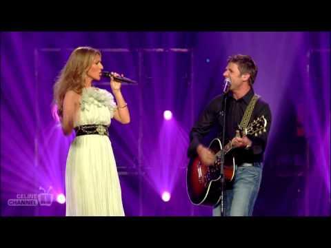 Céline Dion & Marc Dupré - Tout Pres Du Bonheur (live)