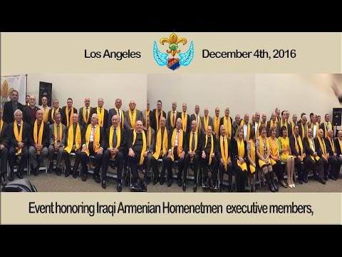 Los Angeles: Reunion of Iraqi Homenetmen members of Baghdad, Mosul & Kirkuk