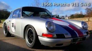 1966 Porsche 911 SWB FIA Race Car