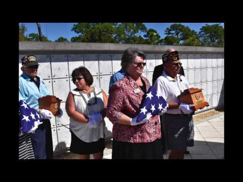 Missing in America Project - South Florida National Cemetery - Lake Worth, Florida - Oct. 22, 2016