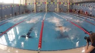Спартакиада ОГК-2. Мужчины после 35. 2 заплыв