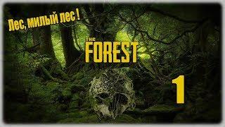 Прохождение The Forest - 1 - Лес, милый лес