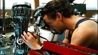Iron Man - Making the Mark II Armor - First Test Scene - Iron Man (2008) Movie CLIP HD