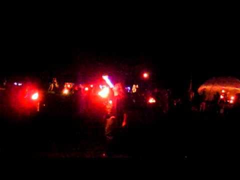 Wildfire Spring 2012 - Tyler fire breathing