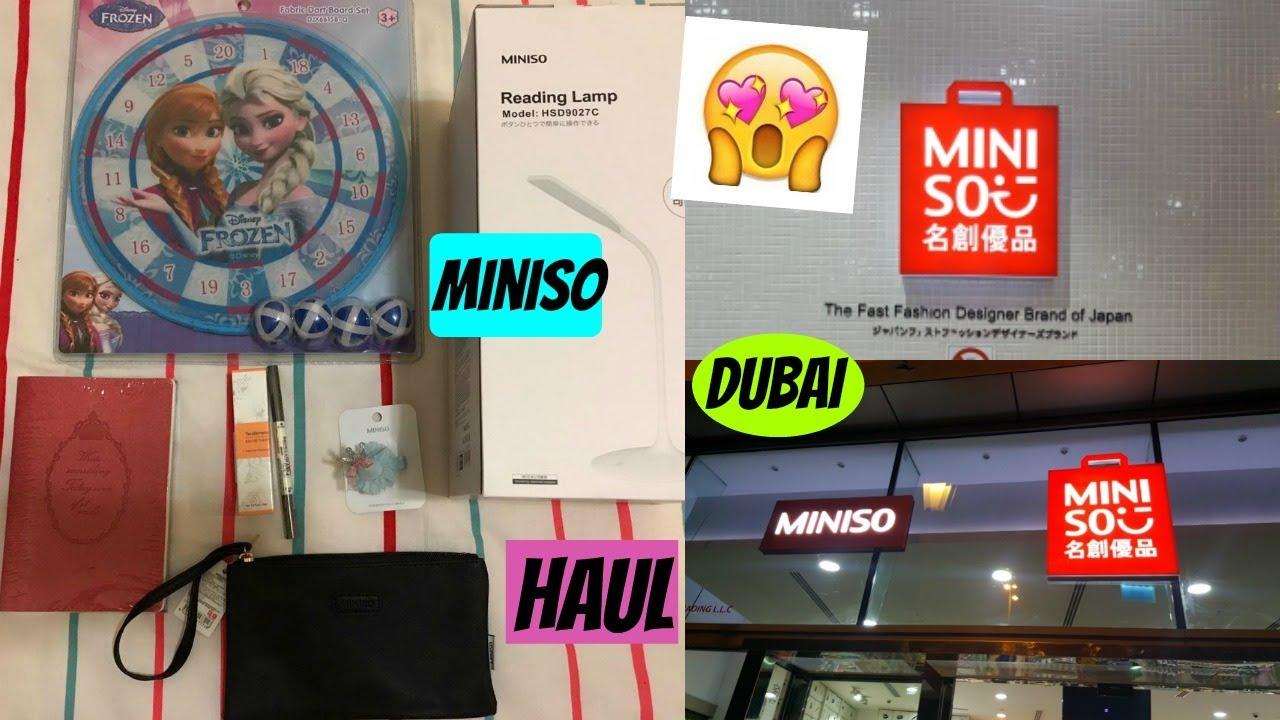 Miniso Haul. Miniso sa Dubai.  MomAndDaughter - YouTube 48c5d21629c