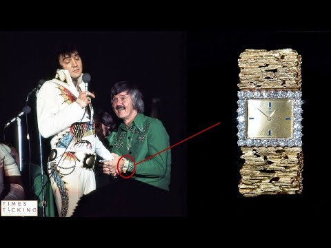 Elvis Presley And The Story Of His Gold Wristwatch