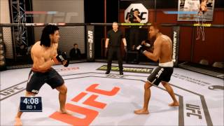 THE FIRST FIGHTS - UFC (PS4) - Career Mode - Quille Lorde
