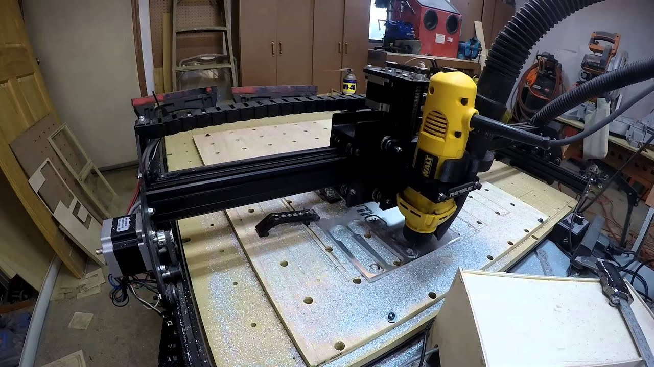Cutting 1 4 Inch 6061 Aluminum Plate With X Carve Cnc