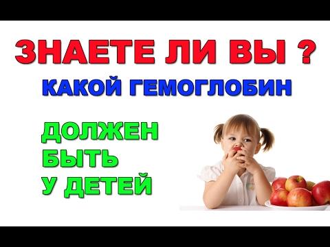 Норма гемоглобина у детей. Гемоглобин у новорожденных детей.