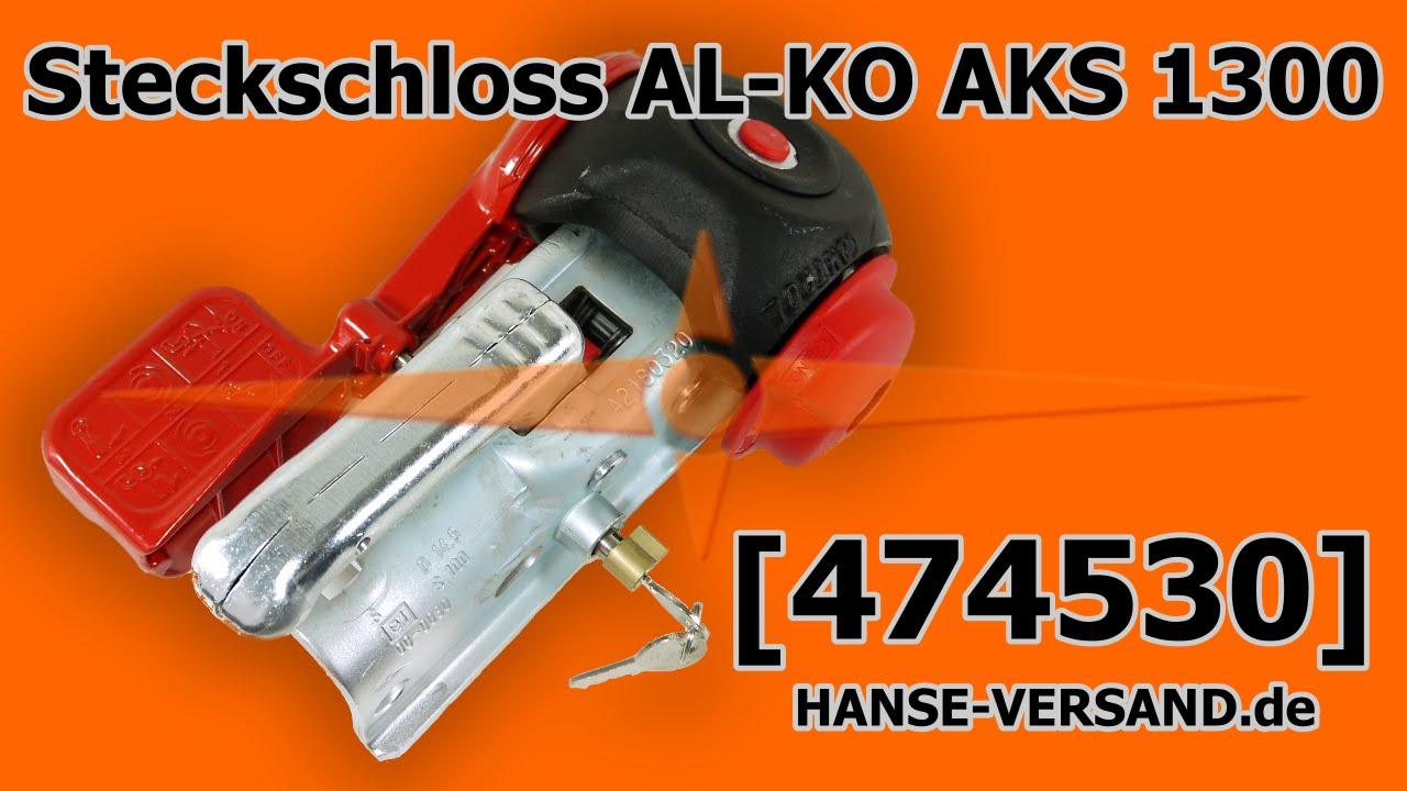 alko aks 1300 antischlingerkupplung steckschloss 474530. Black Bedroom Furniture Sets. Home Design Ideas