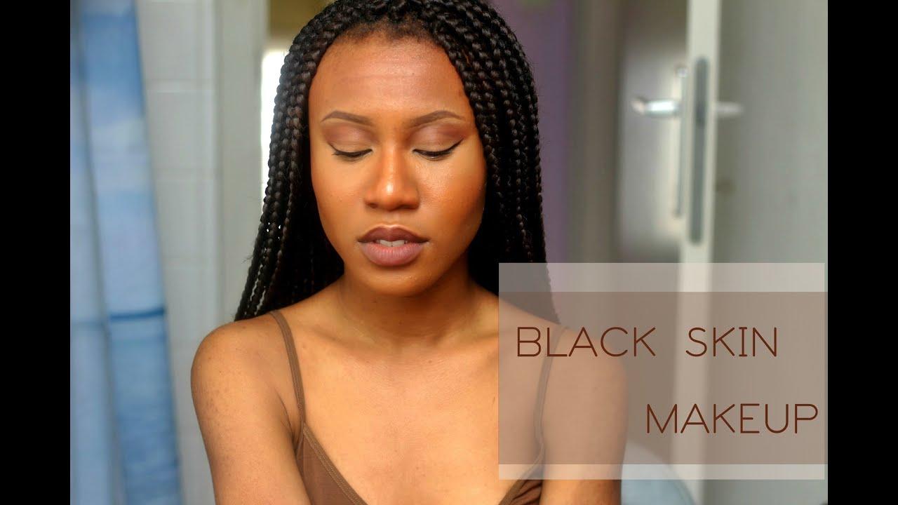 conseils maquillage peau noire youtube. Black Bedroom Furniture Sets. Home Design Ideas