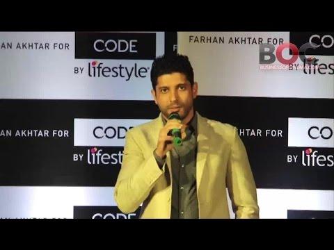 24ea47df8d Code by Lifestyle' Signs Farhan Akhtar As Brand Ambassador - YouTube