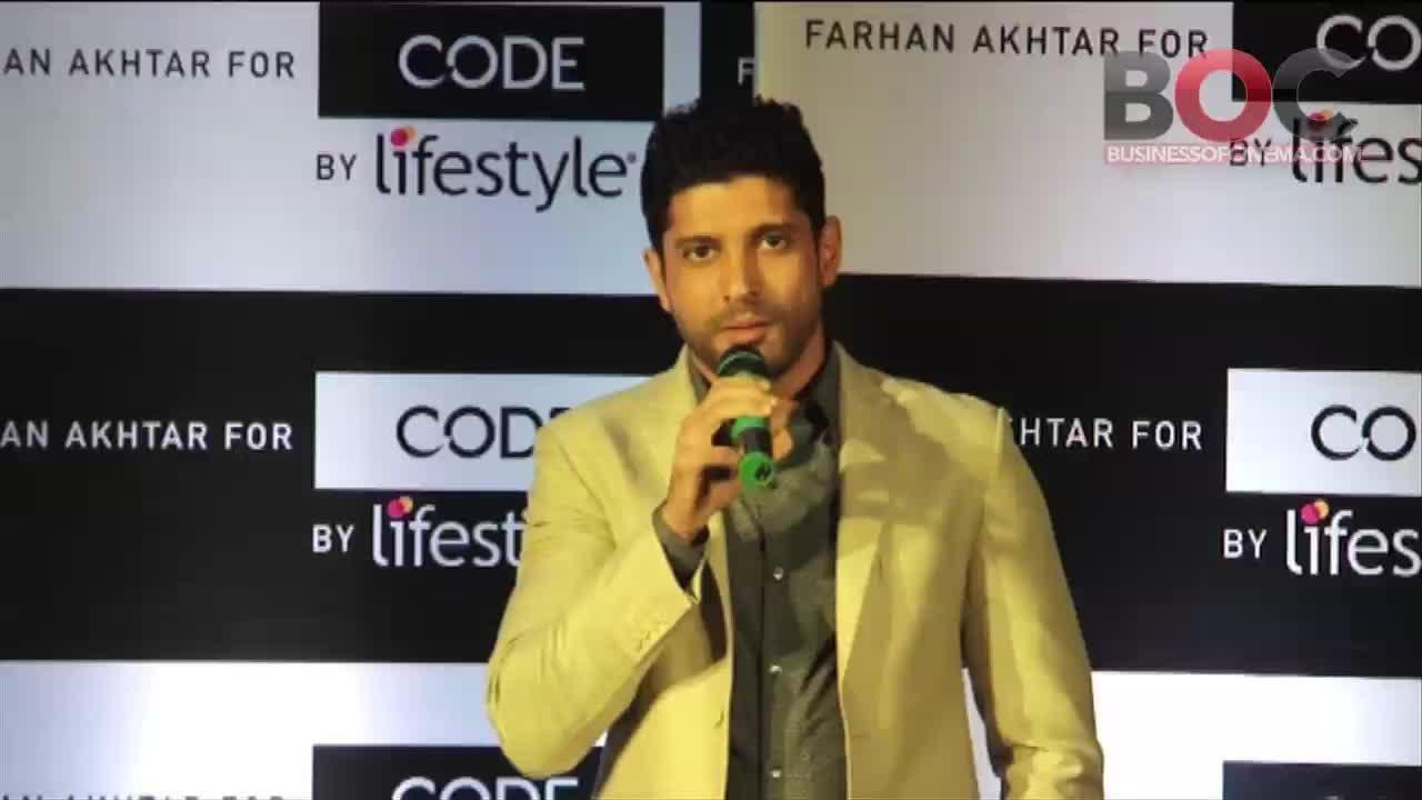83dadddd48 'Code by Lifestyle' Signs Farhan Akhtar As Brand Ambassador