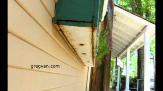 Wood Damage and Window Planter Boxes - Home Repairs and Damage