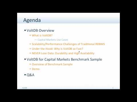 Capital Markets Applications